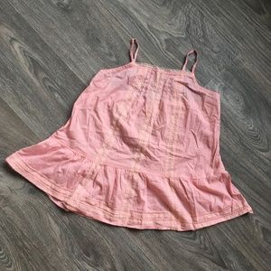 Pink Lace Lace Camisole